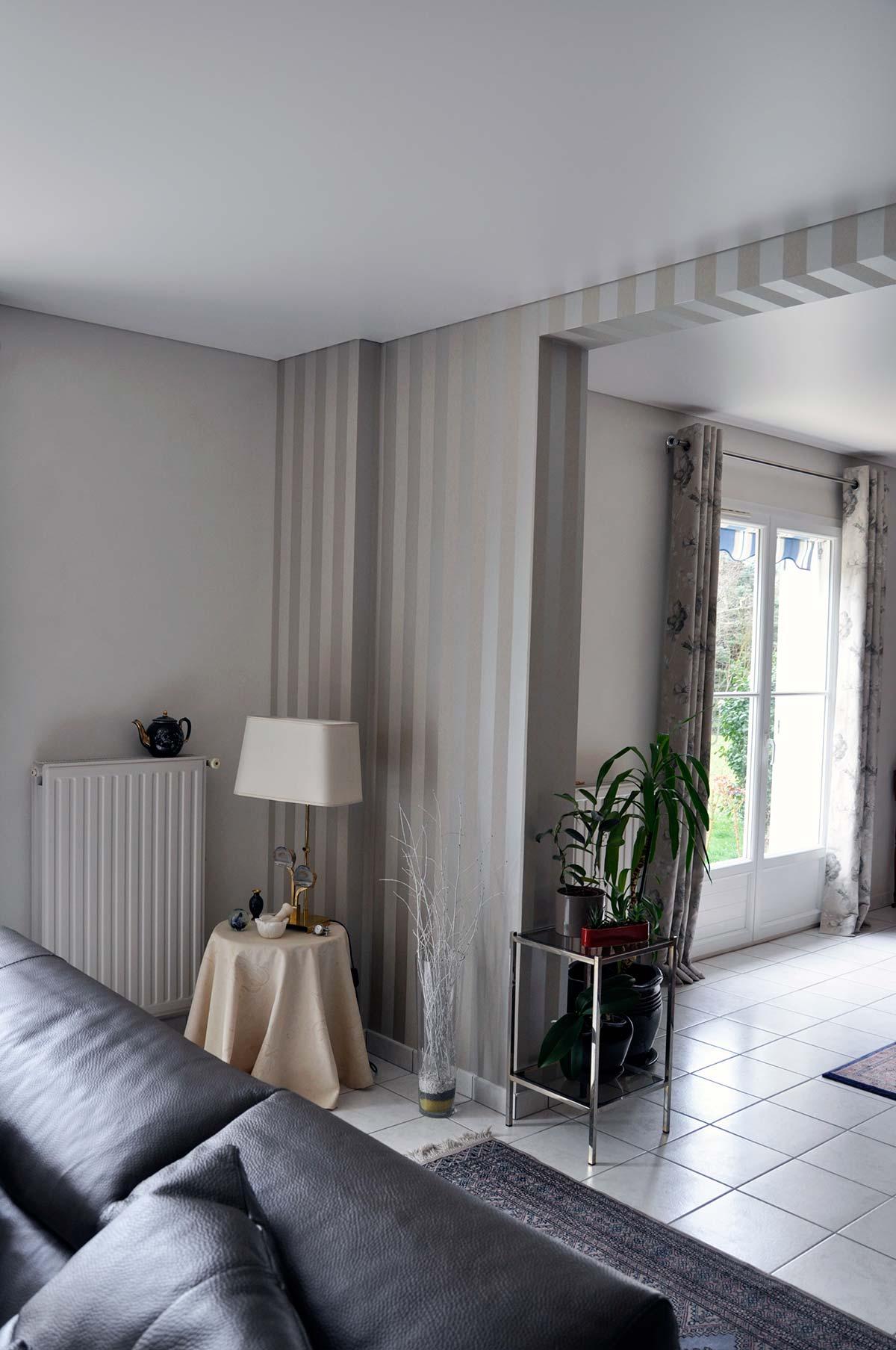 Papier Peint Plafond Tendu Duchesne Decors Peintre Decorateur A
