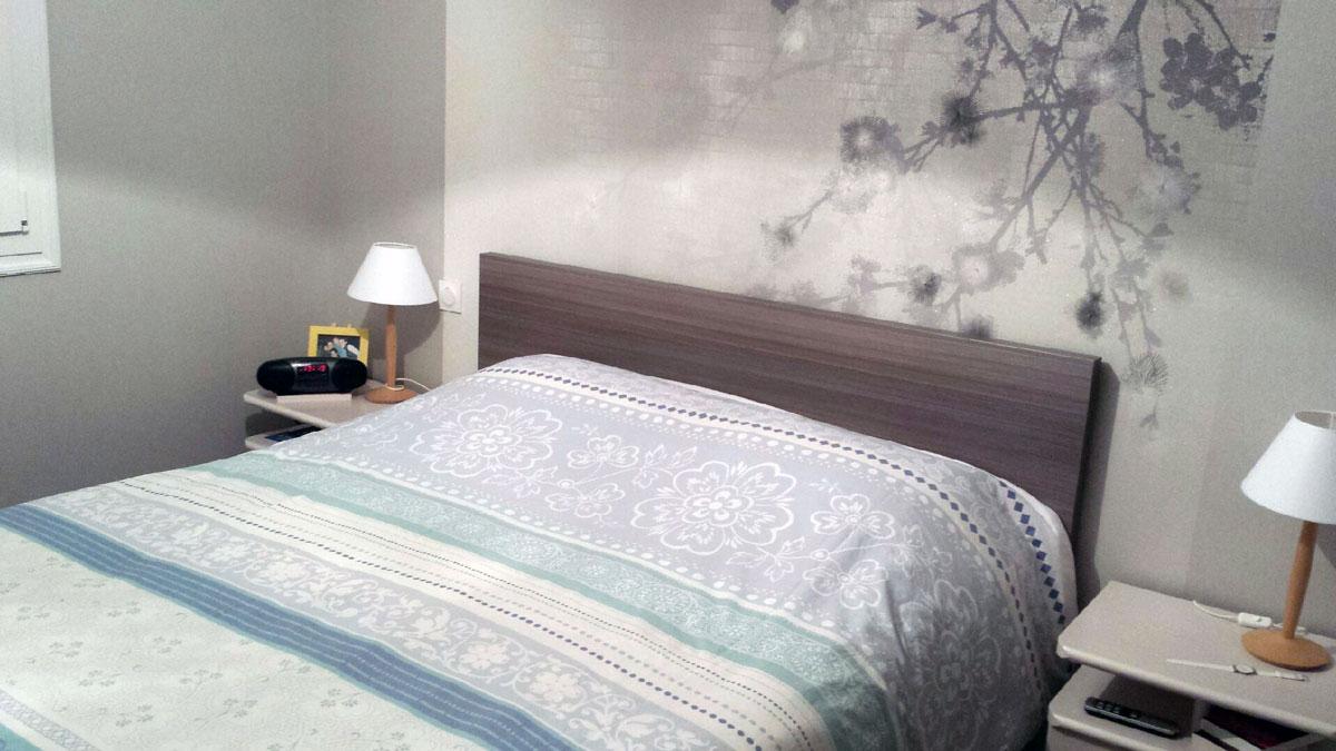 r novation des murs d une chambre duchesne d cors peintre d corateur tours 37. Black Bedroom Furniture Sets. Home Design Ideas