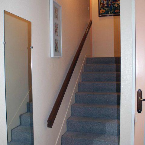 AVANT : Escalier moquette